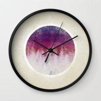 stripe Wall Clocks featuring STRIPE by Charlotte Dandy