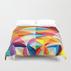C13D Radial Geometric Duvet Cover