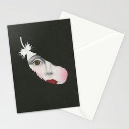 Black Swan- Print Version Stationery Cards