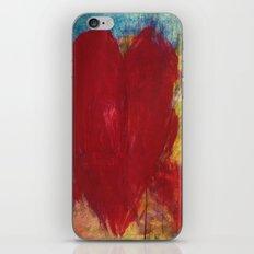 Blood Red Love iPhone & iPod Skin