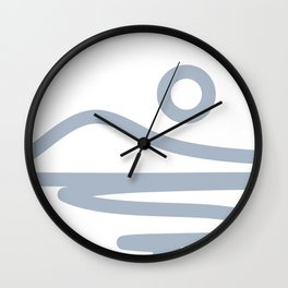 Abstract Landscape 18A Wall Clock