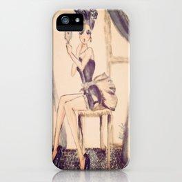 marie antoniette iPhone Case