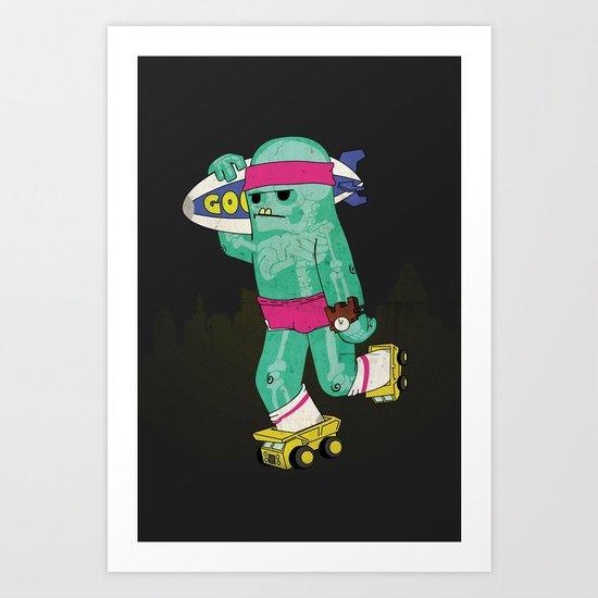 clyde. Art Print