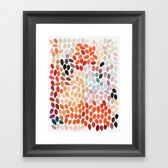 rain 4 Framed Art Print