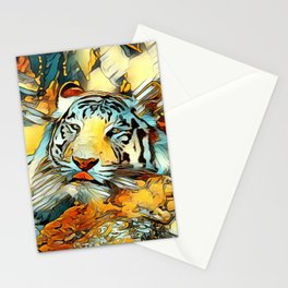 AnimalArt_Tiger_20170603_by_JAMColorsSpecial Stationery Cards