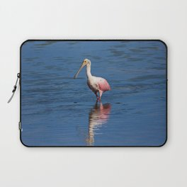 Roseate Spoonbill at Ding V Laptop Sleeve