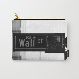 Wall St. Minimal - NYC Carry-All Pouch