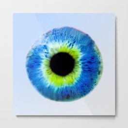 Damn your Eyes Metal Print