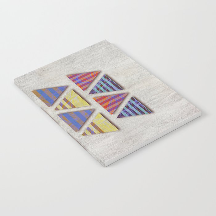 Triangular composition Notebook