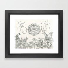 Make me see Framed Art Print