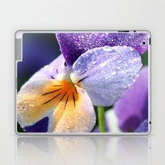 sparkly pansy  Laptop & iPad Skin