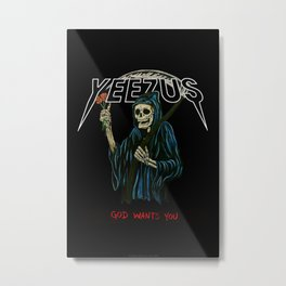 Yezus Metal Print