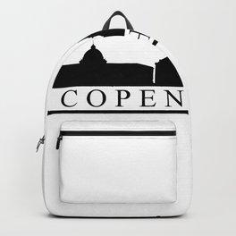 Copenhagen skyline Backpack