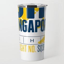 Singapore Tag Travel Mug