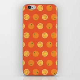Cute Oranges Picture Pattern iPhone Skin