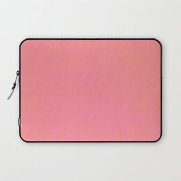 pink coral red color trend plain texture Laptop Sleeve