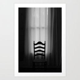 sit awhile Art Print