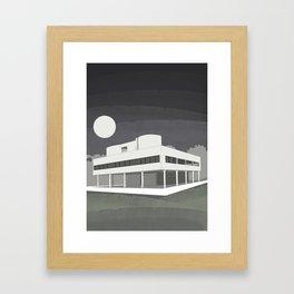 Villa Savoye / Le Corbusier ! Architectural poster! Framed Art Print