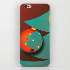 Christmas Eve (texturized edition) iPhone & iPod Skin