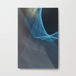 Chunking Down To The Subatomic Metal Print
