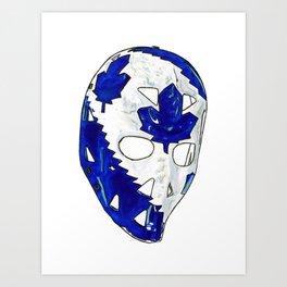 Palmateer - Mask 2 Art Print