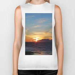 Sublime Sunset on the Sea Biker Tank