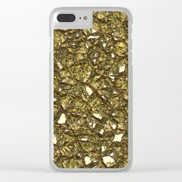 Jagged Stone 3B Clear iPhone Case