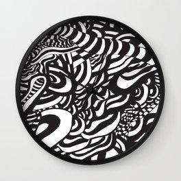 Op art series Wall Clock