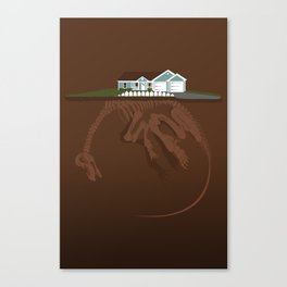 picket. Canvas Print