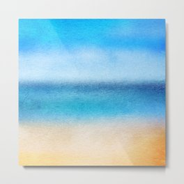 Tropical Sea #4 Metal Print