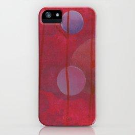 reddish sphere iPhone Case