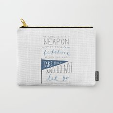 Redeeming Love Carry-All Pouch