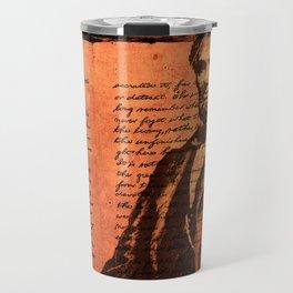 Abraham Lincoln and the Gettysburg Address Travel Mug