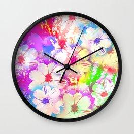 Flowers_108 Wall Clock