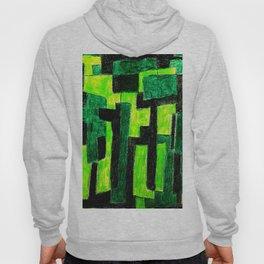 Three Green Puzzle Hoody