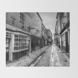 The Shambles Street York Throw Blanket