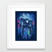robot Framed Art Prints featuring Impressionist Robot by Dan Burgess