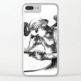 Absence of Dream Clear iPhone Case