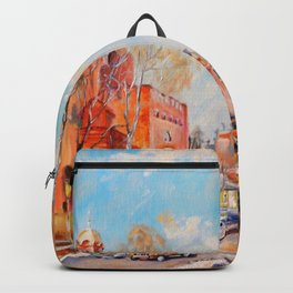 City of Kiev, Golden Gate. Backpack