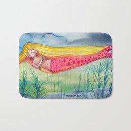 Melodramatic Mermaid Bath Mat