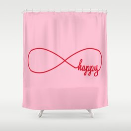 Happy forever Shower Curtain