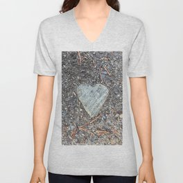 Wild Rock Heart Unisex V-Neck