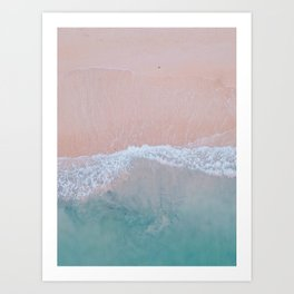 Pink Sands Art Print