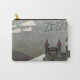 At the Castle - inspired by Zebrat Carry-All Pouch