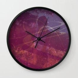 magical garden 2 Wall Clock