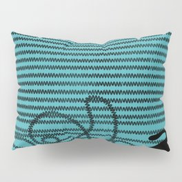 Unravel (in Blue) Pillow Sham