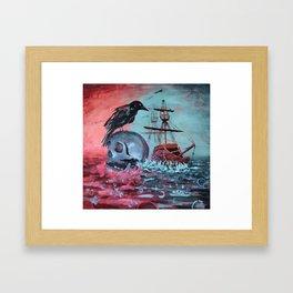 Mor Ki Framed Art Print