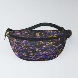 Pond -- Gold and Purple Fanny Pack