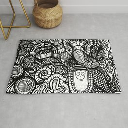 Under the Sea Doodle Rug