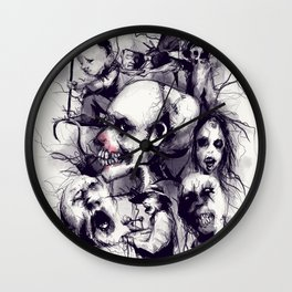 Scary Stories To Tell In The Dark Wall Clock